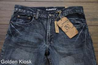 New with tags mens Flypaper Boot Cut Denim Jeans for men
