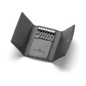 Graf von Faber Castell Schlüsseletui schwarz genarbt