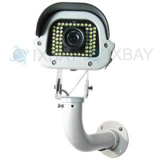 540TVL Car License Plate Captured Camera Outdoor Waterproof 63 White