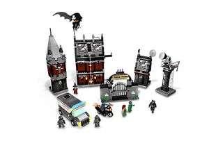 ARKHAM ASYLUM 7785 Set Batman 7 minifigs Riddler Scarecrow Poison Ivy