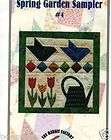 Quilt Pattern The Rabbit Factory Spring Garden Sampler