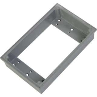 Greenfield 4 In Round Weatherproof Electric Outlet Box Extension Ring