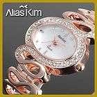 Neu Luxus Damen Analog Quarz Armband Uhr mit strass A Artikel im fun