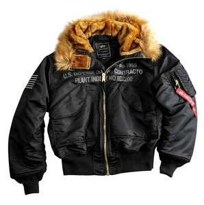 Alpha Industries Jacke 45P Hooded Custom Bomberjacke Pilot