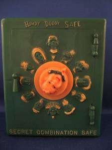 Howdy Doody Plastic Safe / SCARCE