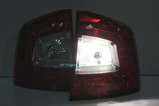 LITEC LED Rückleuchten Skoda Octavia II 1Z Rot Klar NEU