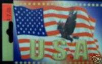 USA UNITED STATES FLAG EAGLE PLAYING CARD CARDS DECK