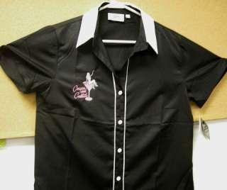 LADIES Cut retro shirt COUGARS & COCKTAILS sizes S 3XL