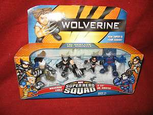 Wolverine Marvel Super Hero Squad WOLVERINE CABLE X 23   Hunt for MR