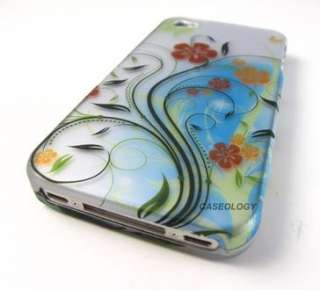 ELEGANT FLOWER VINES HARD SNAP ON CASE COVER APPLE IPHONE 4 4s PHONE