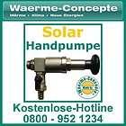 Pumpe Füllpumpe für Solarflüssigkeit Solarpumpe Messing NEU