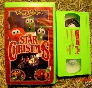 Veggietales The Star Of Christmas Vhs VeggieTales VHS Lot To...