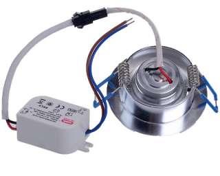 LED Ceiling Light Lamp Bulb 110V 240V Warm White 1*1W