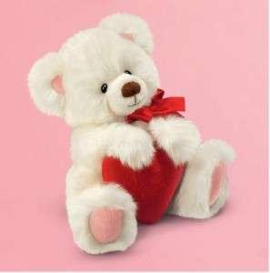 RUSS BERRIE SMITTEN CHRISTMAS SWEETHEART VALENTINES TEDDY BEAR SOFT