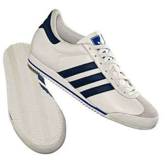 Adidas Originals Kick White/Navy/Blu Trainers Mens Size