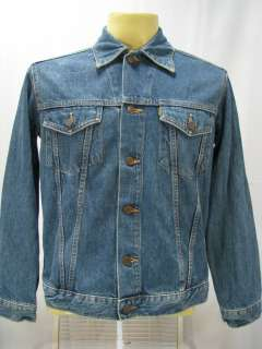VTG Big John Blue Denim Jeans Cotton Work Wear Jacket Made in Japan