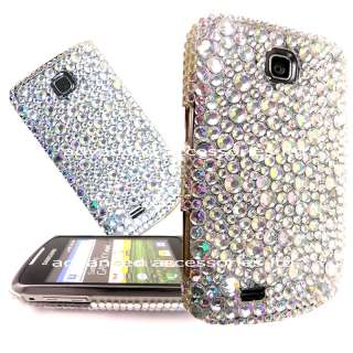 FOR SAMSUNG GALAXY MINI S5570 CRYSTAL DIAMOND HARD CASE DIAMANTE BLING