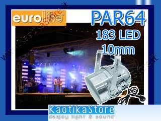 LED TECNOLOGIA FARI PAR 64 FARO DISCOTECA LUCI LED LUCI A LED Faro