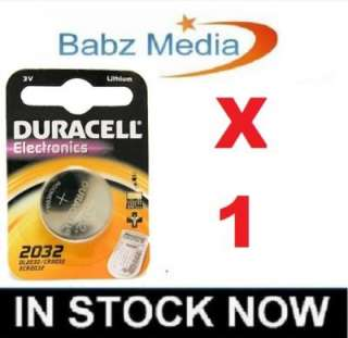Duracell CR2032 3V Lithium Coin Cell Battery 2032