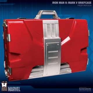 IRON MAN 2 Malette Mark V SUIT BRIEFCASE Prop Replica