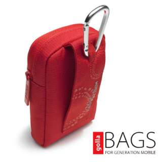 NEW GOLLA G1145 RED GAGE DIGI BAG DIGITAL CAMERA CASE BAG