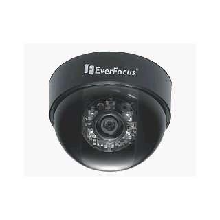 EVERFOCUS ED230/N 4B BLACK MINI INDOOR DOME W/IRS 380TVL