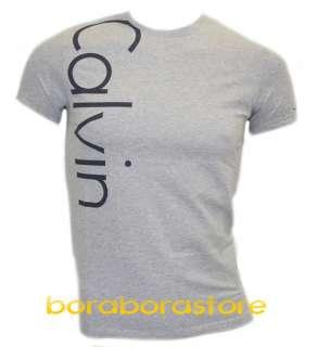 shirt uomo Calvin Klein cmp49p tg.L grigio nuova collezione prim