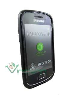 2X Custodia WAVE soft per Samsung Galaxy MINI 2 S6500 lucida TPU