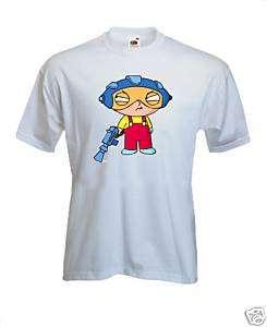 Shirt STEWIE GRIFFIN Aderente. Spedizione GRATIS!!!