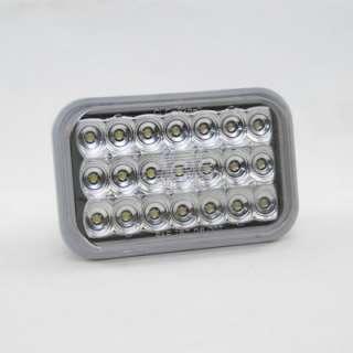KC HiLites LED Lamp Light   5 Rectangular Backup Light Clear (ea