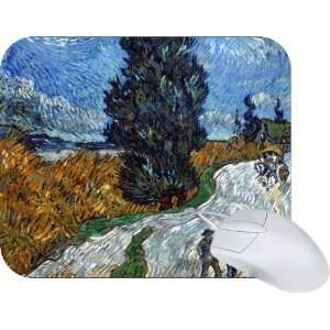 Rikki Knight Van Gogh Art Van Gogh Country Road in Provence Mouse