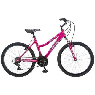 Mongoose 24 inch Bike   Girls   Blush   Pacific Cycle   Bikes   FAO