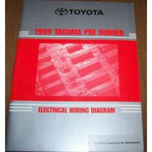 1999 Toyota Tacoma Pre Runner Electrical Wiring Diagram