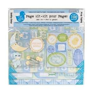 Colorbok Baby Boy Page Kit 12X12 43263; 2 Items/Order