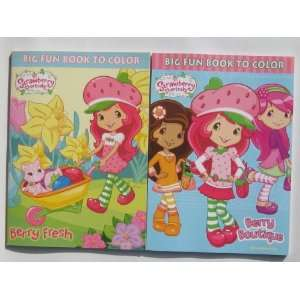Strawberry Shortcake Coloring Books 2 Pack Toys & Games