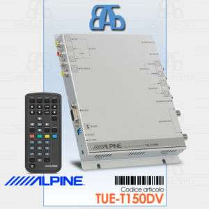 ALPINE TUE T150DV Tuner TV Digitale terrestre DVB T