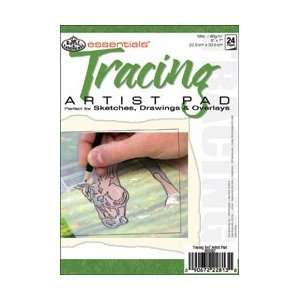 Royal Brush Tracing Paper Pad 5X7 16pgs/Pkg RD367; 6 Items/Order