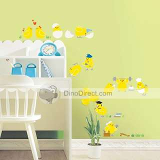 Wholesale Cute Chicken Cartoon Home Decor Wall Sticker   DinoDirect