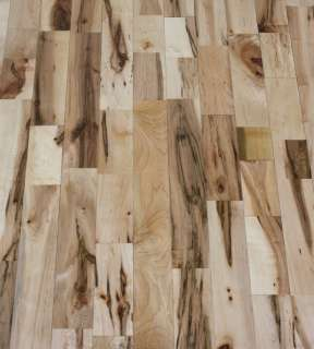 Maple Floor Solid Hardwood Real Wood Flooring £9.99+VAT m2 Birch mix