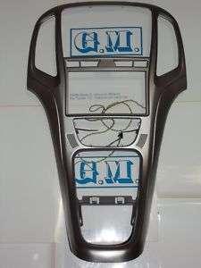 Mascherina kit monitor Doppio 2 DIN Opel Astra J Gray