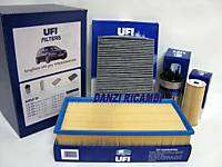 KIT 4 FILTRI TAGLIANDO SERVICE UFI VW GOLF IV 4 1.9 TDI