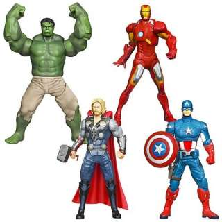 The Avengers Ultimate Electronic 10 Action Figures 4 Pack