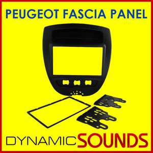 PEUGEOT 107 2005 Car CD Stereo Double Din Fascia Surround Panel