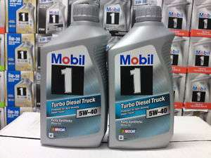Mobil 1 Turbo Diesel Truck Engine Oil 5W40 6 Quart