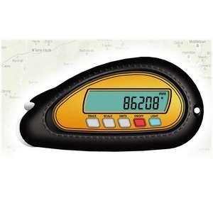 Curvímetro digital/Medidor de distancias para Mapas km (850 100)