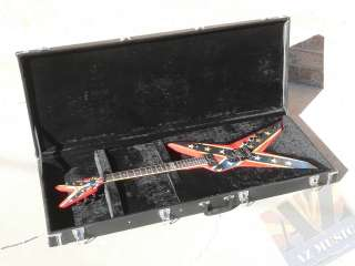 Dean Dimebag Darrell Dixie Rebel Flag Pantera Guitar w/ OHSC + AZ