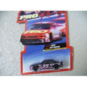 Hot Wheels Pro Racing 1997 Jeff Burton Exide #99: Toys & Games