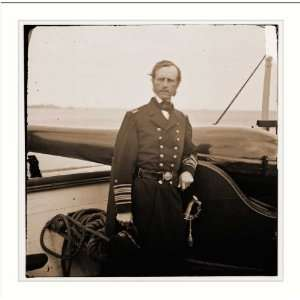 . Rear Adm. John A. Dahlgren standing by a Dahlgren: Home & Kitchen