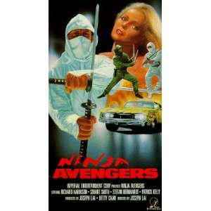 Ninja Avengers [VHS] Richard Harrison, Stuart Smith