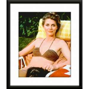 Lindsay Wagner Framed And Matted 8x10 Color Photo: Home